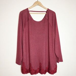 1DAYSALE Maurices Oversized Long Sleeve L